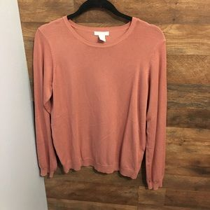 H&M long sleeve top size Large